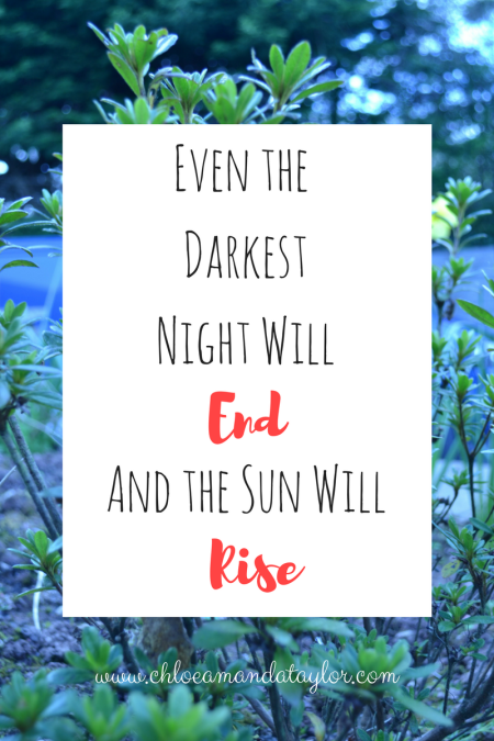 Light Quotes: Even the darkest night will end and the sun will rise