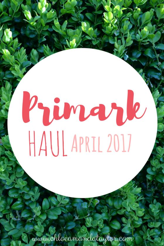 Primark Haul 2017