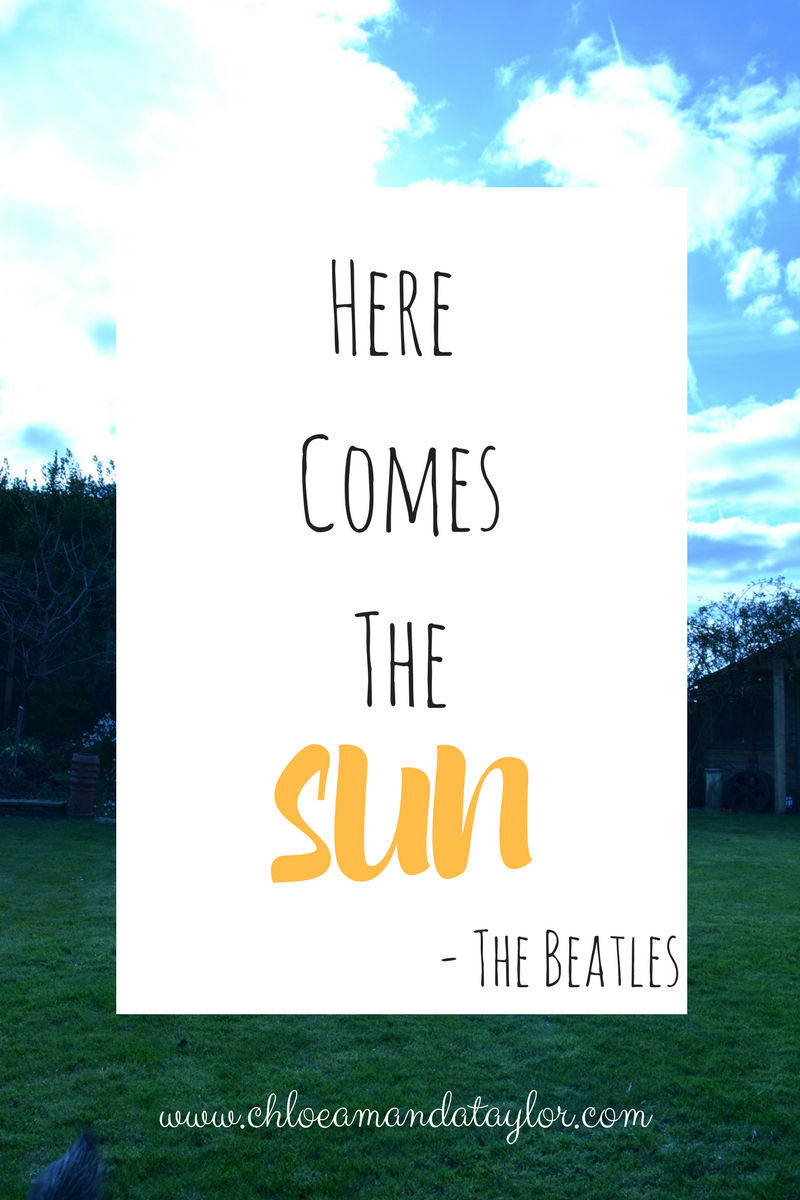 Here comes the sun, The Beatles quotes