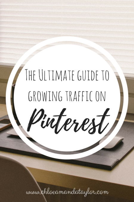 Ultimate guide to growing traffic on pinterest