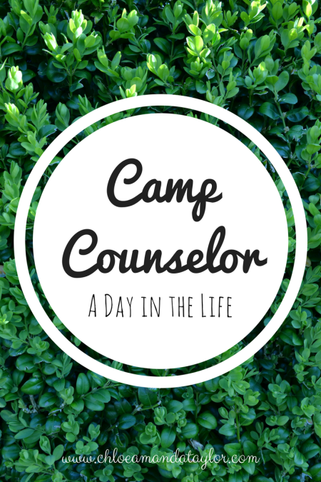 A Day in the Life of a camp counsellor