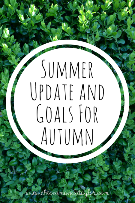 Monthly goals and Updates 2017