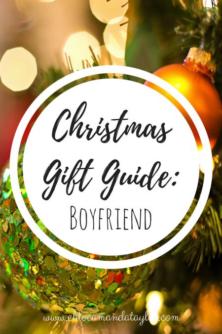 Christmas Gift Guide - Boyfriend