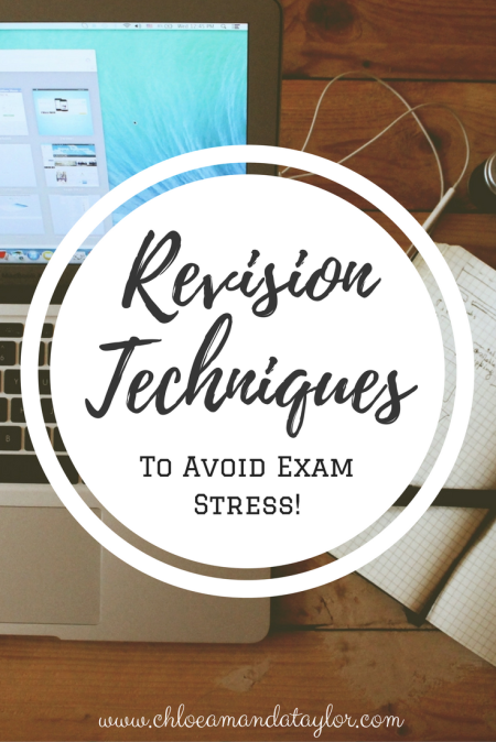 Revision techniques for Exam Success